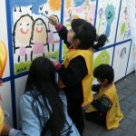 Actividad 400 Miradas. Mercado de Arte Eggo 2014.