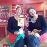 Cecilia Raspo y Natalia Martínez en Barrilete.